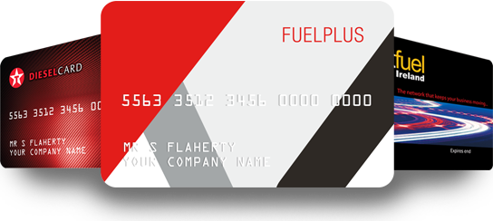 Fuelplus, Texaco Fastfuel and Texaco Diesel fuel cards