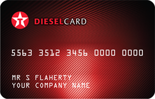 Texaco Diesel Fuel Card