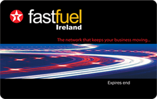 Texaco Fastfuel Fuel Card